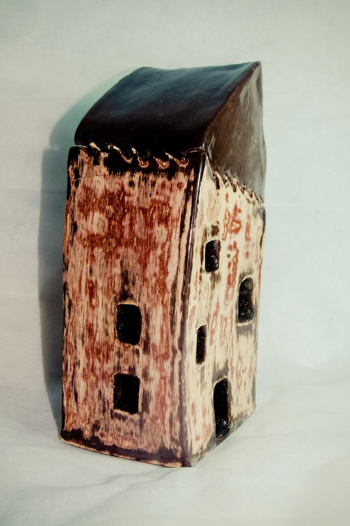 Old Surealist House Puzzle Box