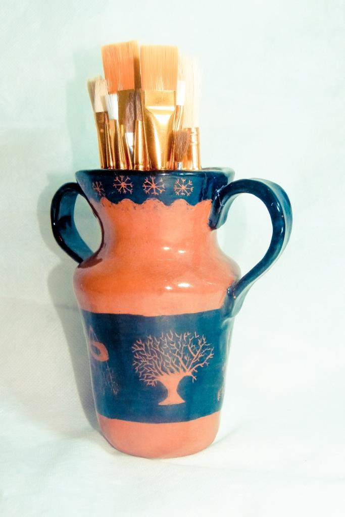 Greek Styled Vase